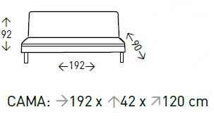sofá cama solver