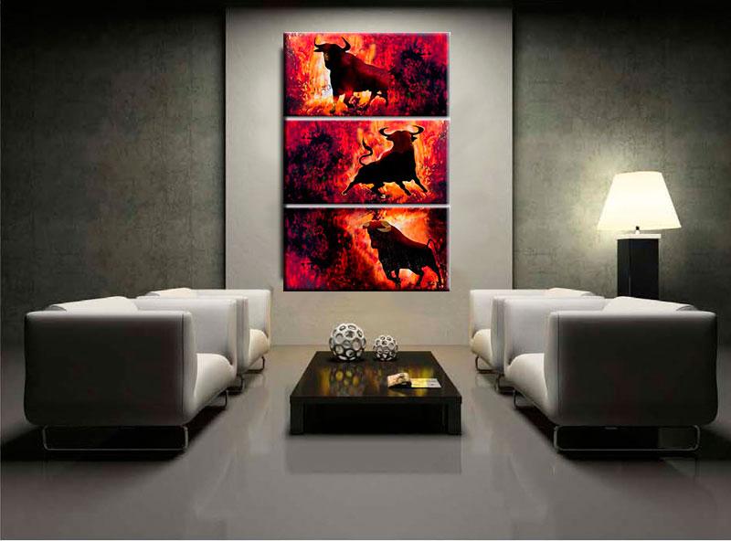 cuadro de toros