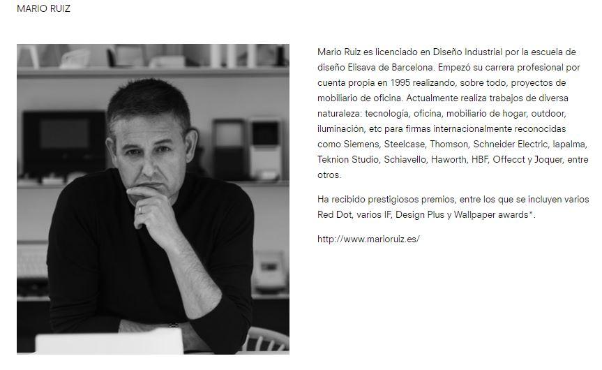 Mario Ruiz diseñador Joquer