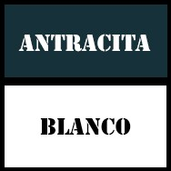 Antracita-blanco
