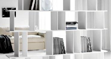 Dise o decoraci n e interiorismo - Mueble separador de ambiente ...